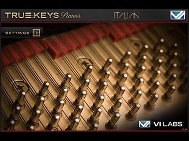 VI Labs/True Keys : Italian Grand【オンライン納品】【FOMIS】