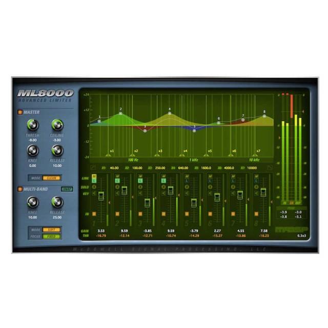 McDSP/ML8000 HD【オンライン納品】【在庫あり】