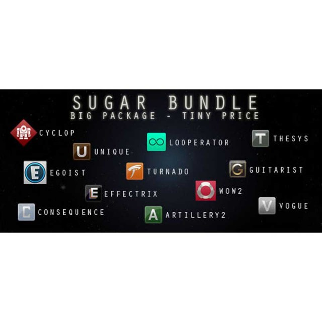 Sugar Bytes/SUGAR BUNDLE【オンライン納品】