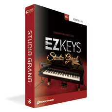 TOONTRACK/EZ KEYS - STUDIO GRAND