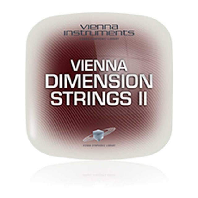 Vienna Symphonic Library/VIENNA DIMENSION STRINGS II【期間限定キャンペーン】