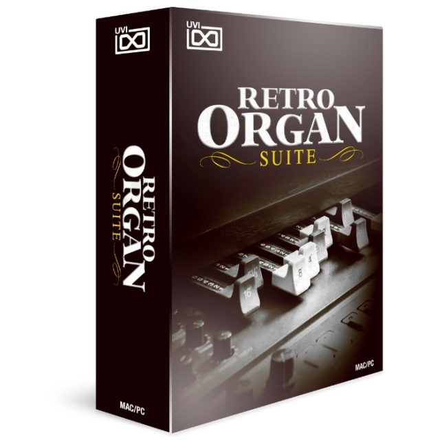 UVI/Retro Organ Suite【オンライン納品】