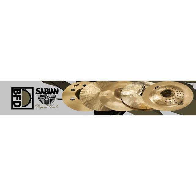 FXPansion/BFD3/2Expansion Pack: Sabian Digital Vault【オンライン納品】【BFD拡張】