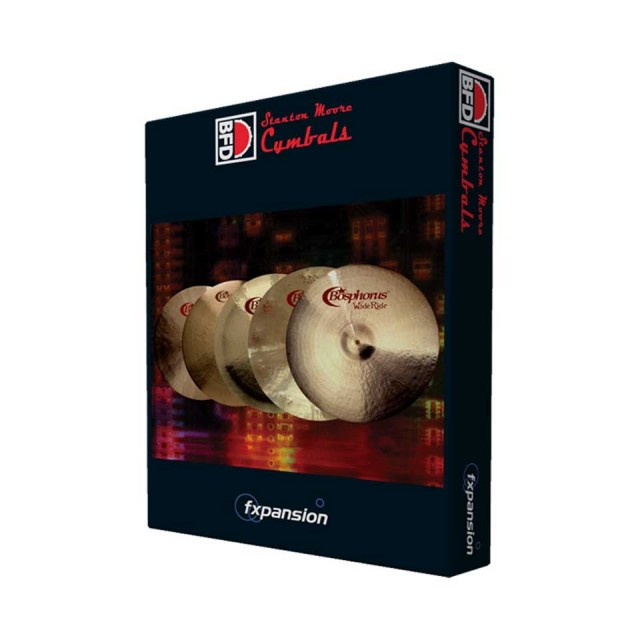 FXPansion/BFD3/2Expansion Pack: Stanton Moore Cymbals【オンライン納品】【BFD拡張】