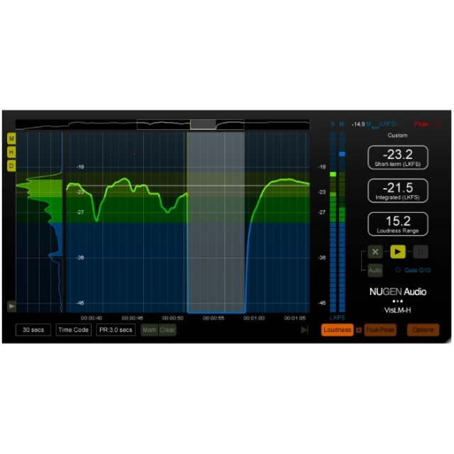 Nugen Audio/VisLM-H 2 Upgrade from VisLM-C【オンライン納品】