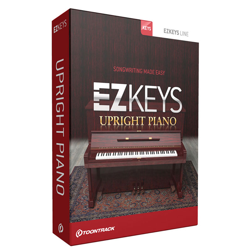 TOONTRACK/EZ KEYS - SMALL UPRIGHT PIANO