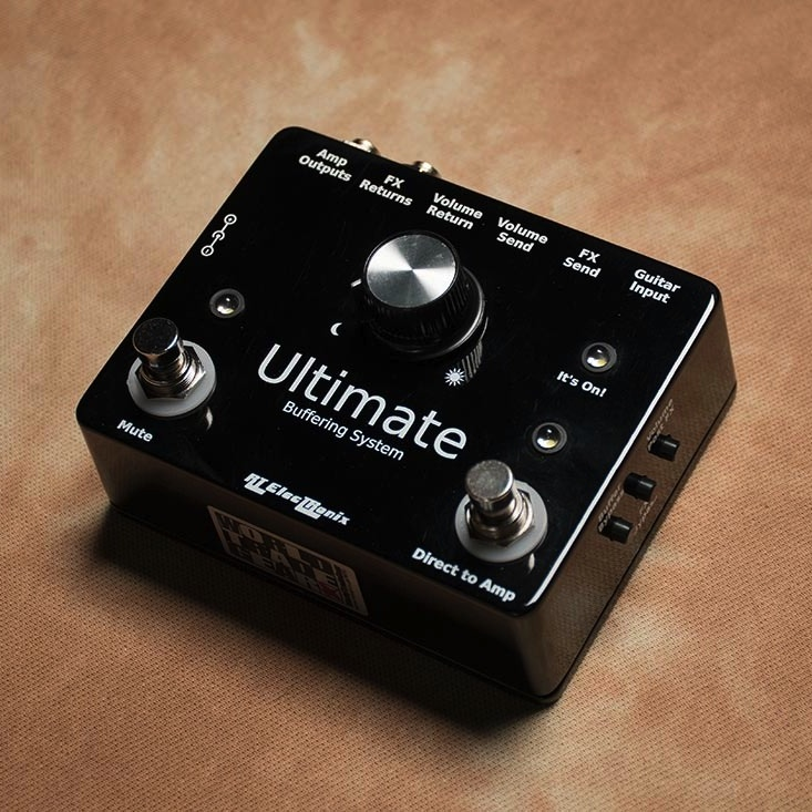 RT ElecTRonix/UBS-1 Ultimate Buffering System Pedal【在庫あり】【1911E1】