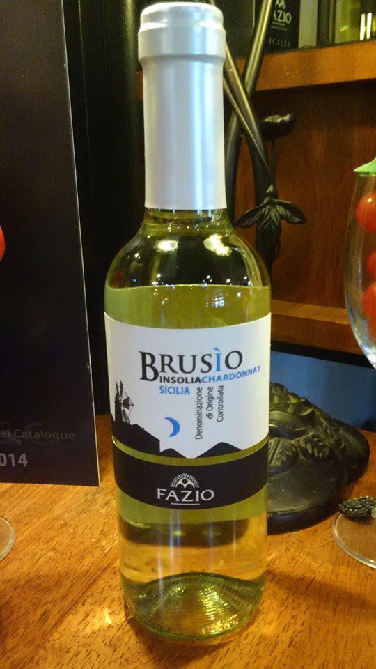 ブルシオ Sicilia IGT ~白~  FAZIO ハーフボトル