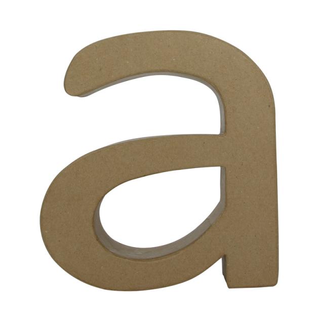 ペーパーマッシュ デザインアルファベット A~J
