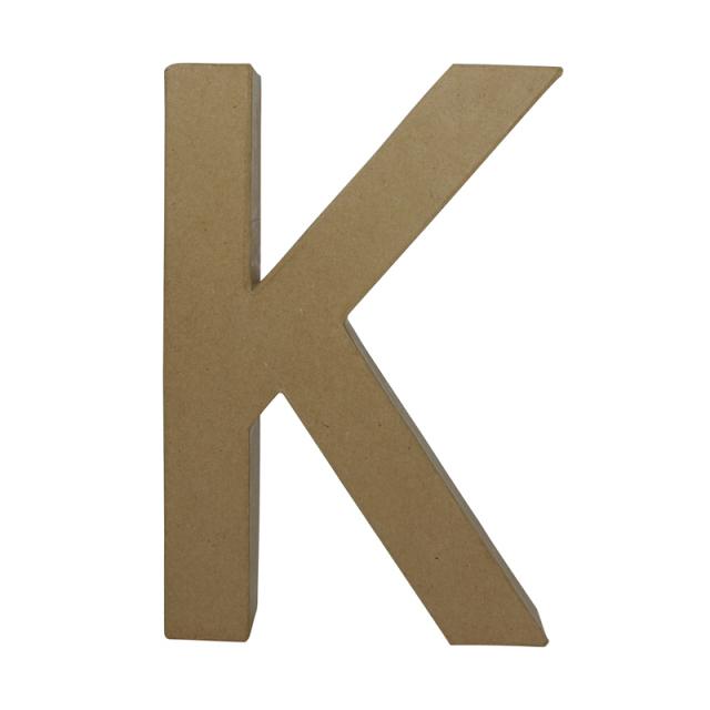 ペーパーマッシュ デザインアルファベット K~T