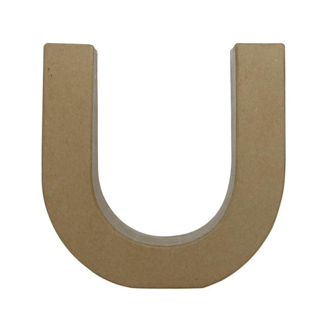 ペーパーマッシュ デザインアルファベット U~Z