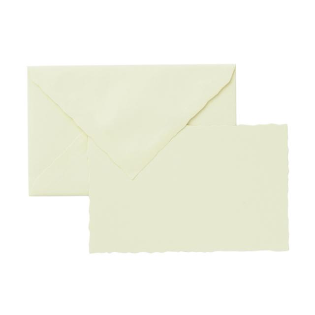 ヴェルジェ・ド・フランス カード封筒セット デックルエッジ