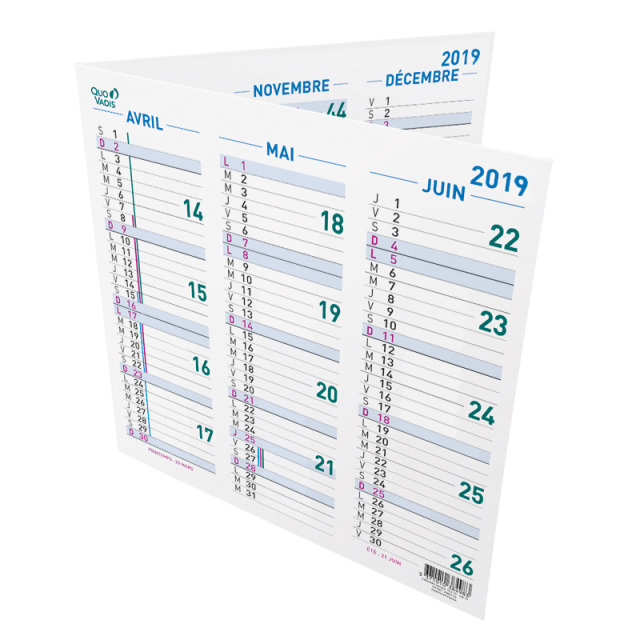 【完売】【2019年版】カレンダー オリガミ 13x13cm