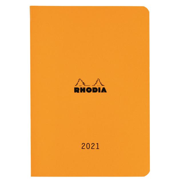 【2021年版】ロディア マンスリーダイアリー 14.8x21cm(A5)