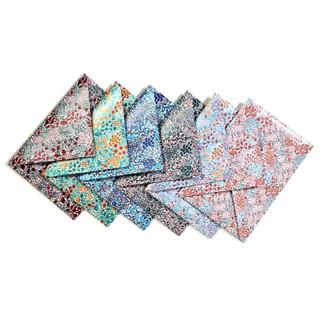 ポレン ポストカードサイズ封筒 フラワー