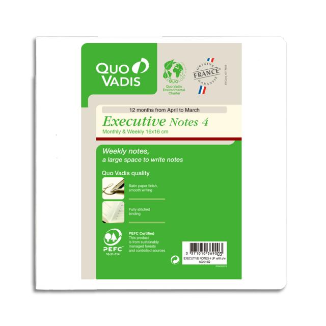 【4月始まり】Executive Notes4 エグゼクティブノート4/レフィル