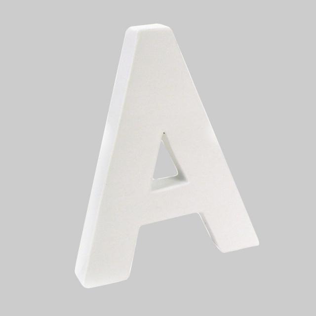 ペーパーマッシュ アルファベットM A~J