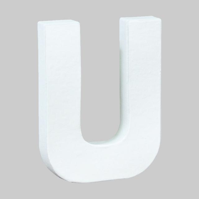 ペーパーマッシュ アルファベットS U~Z