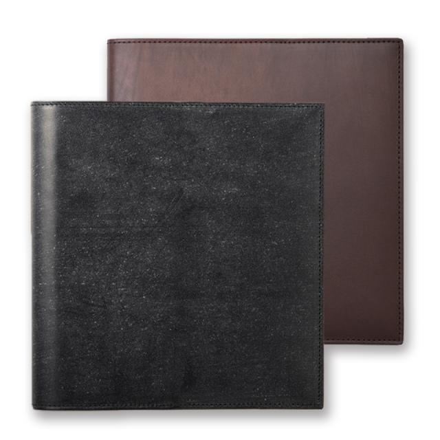 Bridle Leather Cover 16×16cmカバー/ブライドルレザー(オンラインショップ限定商品)