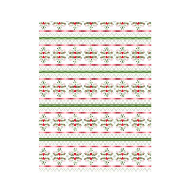 【クリスマス】デコパッチペーパー クリスマス ハート