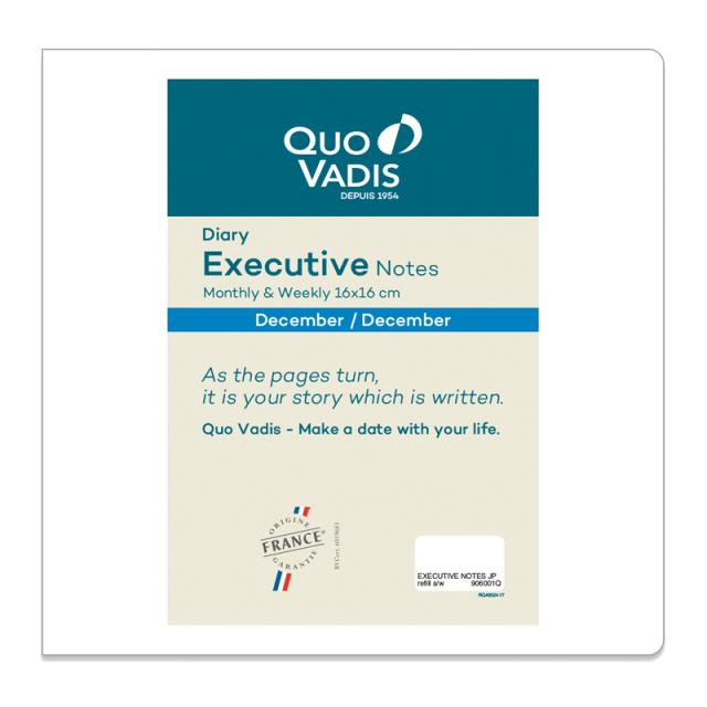 【2020年版】Executive Notes エグゼクティブノート/レフィル