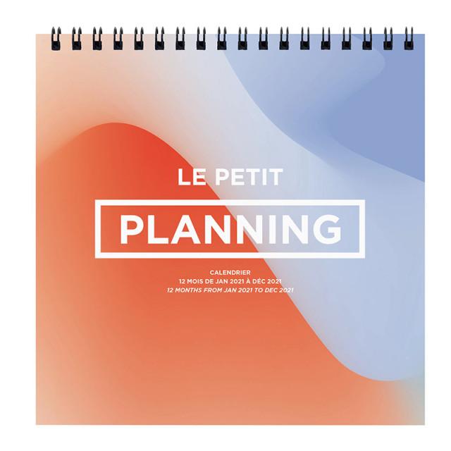 【30%OFF】【2021年1月始まり版】LE PLANNING カレンダー プティプランニング/16x16cm