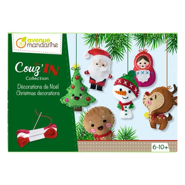 Creative Box クリスマスソーイングセット