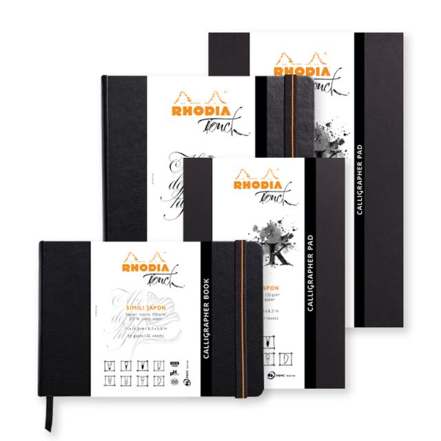 RHODIA Touch ロディアタッチ カリグラフィーパッド/ブック