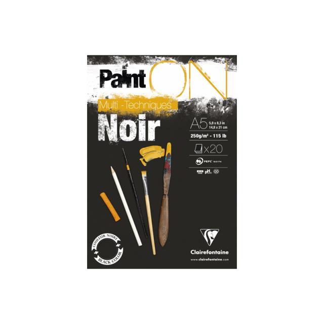 PAINT'ON ペイントオン A5パッド ブラック