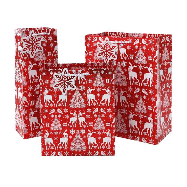 クリスマスペーパーバッグ Nordic/ノルディック