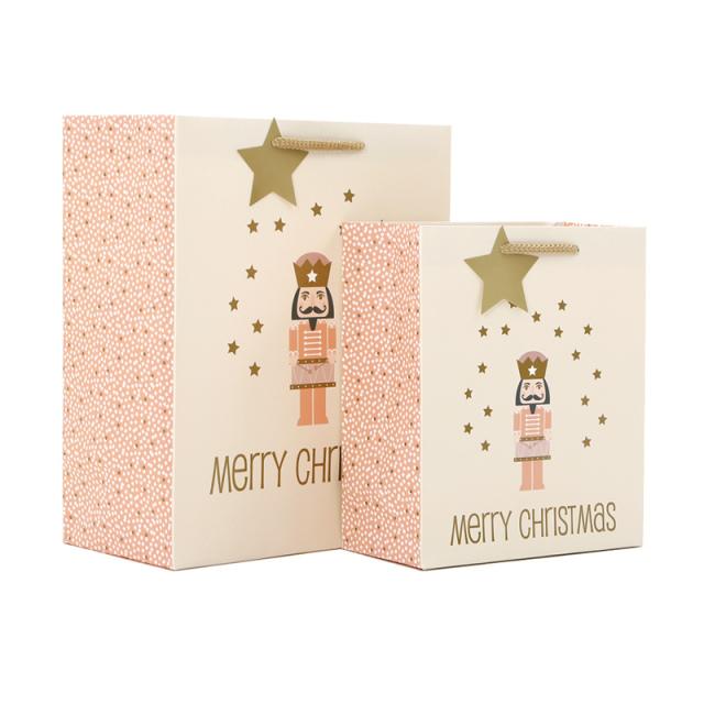 クリスマスペーパーバッグ Nutcracker/くるみ割り人形