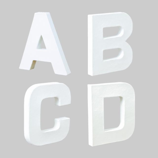 ペーパーマッシュ アルファベットS