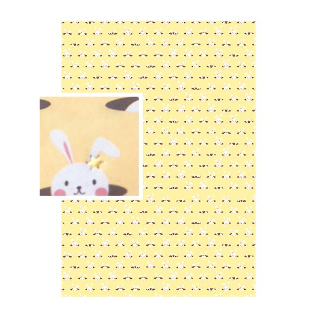 デコパッチペーパーTEXTURE ウサギ