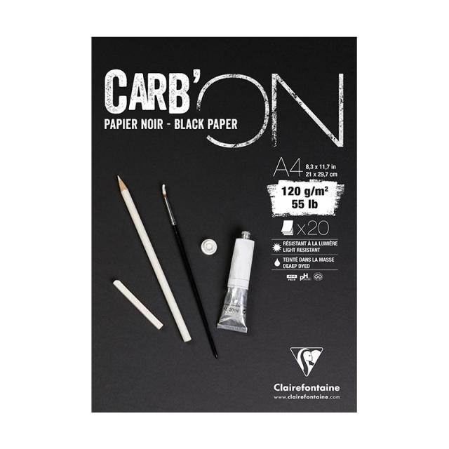 CARB'ON カーボン ブラックペーパーパッド A4