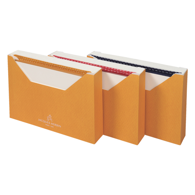 JACQUES HERBIN カード封筒セット(15枚入り) C6(洋2)サイズ