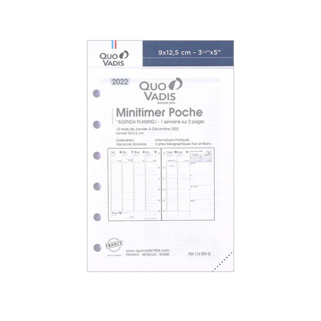 【2022年1月始まり版】 MiniTimer ミニタイマー/レフィル
