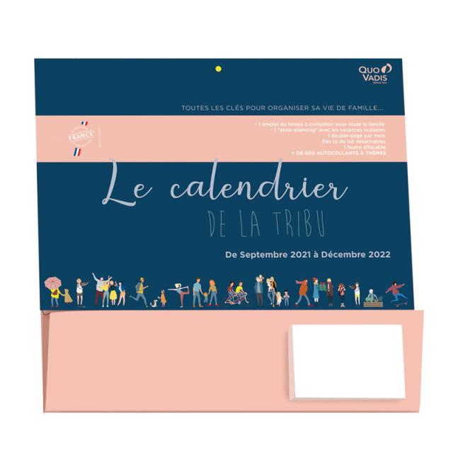 【2022年1月始まり版】ファミリーカレンダー DE LA TRIBU