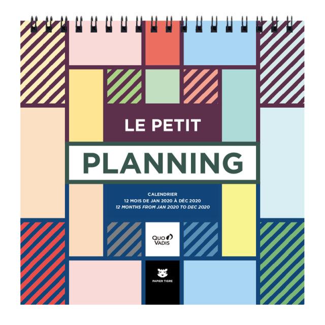 【30%OFF】【2020年版】LE PLANNING カレンダー プティプランニング/16x16cm