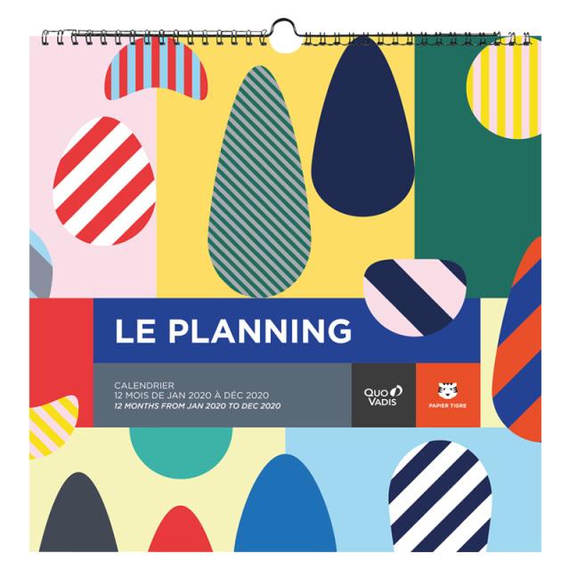 【2020年版】LE PLANNING カレンダー プランニング/30x30cm