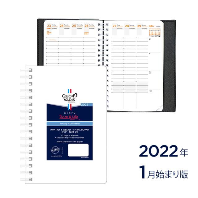 【2022年1月始まり版】Time&Life タイムアンドライフ 10×15/レフィル