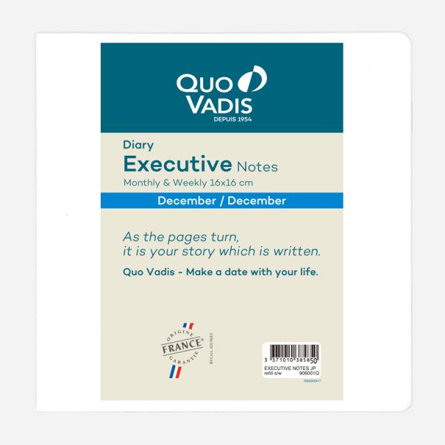 【2018年版】Executive Notes エグゼクティブノート/レフィル