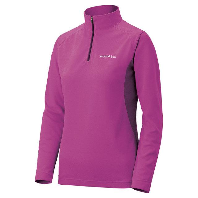 mont-bell(モンベル) ウイックロン ZEO ロングスリーブ ジップシャツ Women's フロックス 1104941