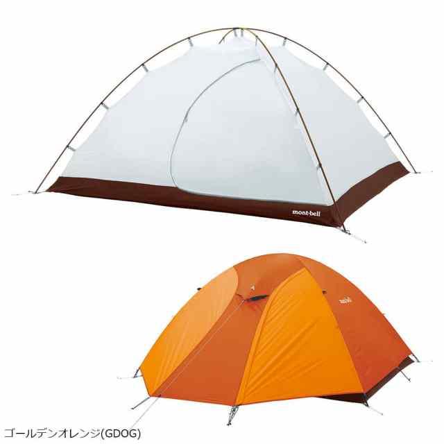 mont-bell(モンベル) クロノスドーム4型 ゴールデンオレンジ 1122492