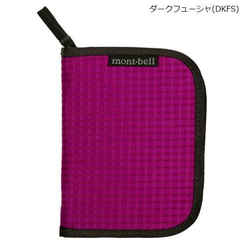 mont-bell(モンベル) ジップワレット ダークフューシャ(DKFS) 1123767