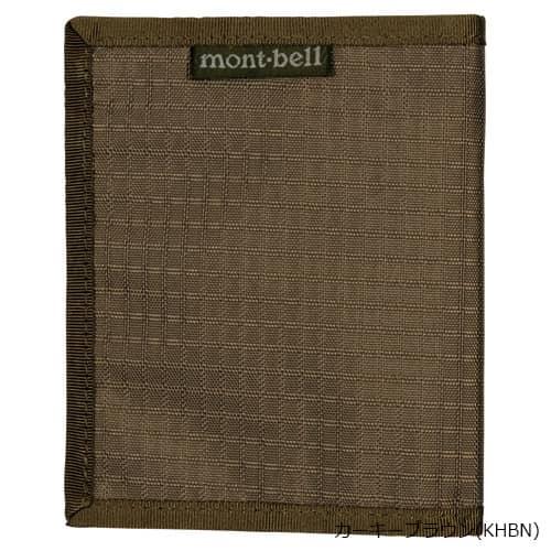 mont-bell(モンベル) スリムワレット カーキブラウン KHBN 1123768