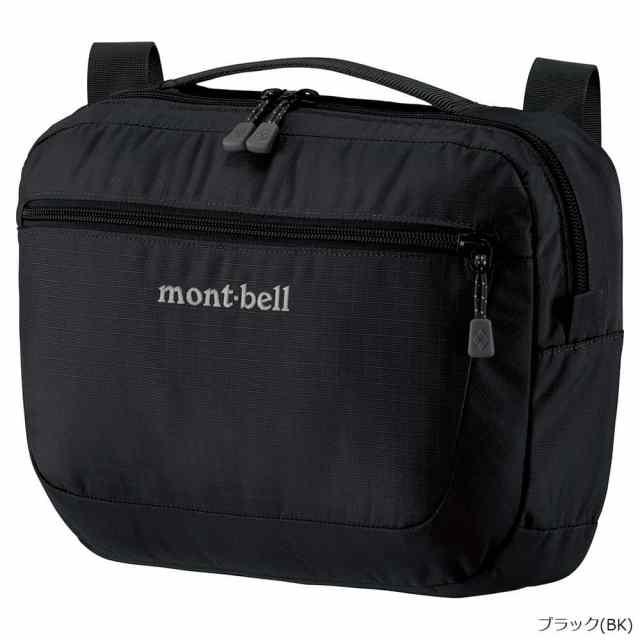 mont-bell(モンベル) トラベルショルダー M ブラック 1123889