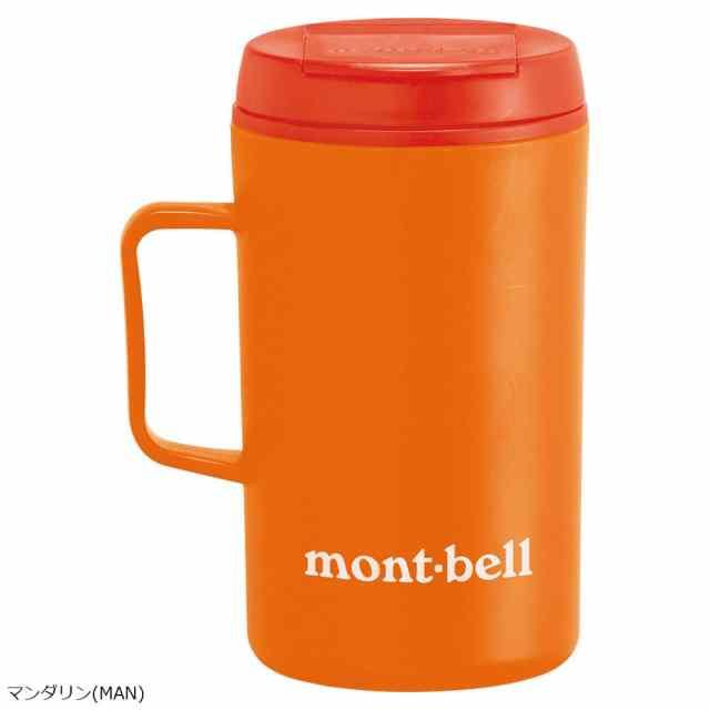 mont-bell(モンベル) サーモマグ330 モンベルロゴ マンダリン 1124562
