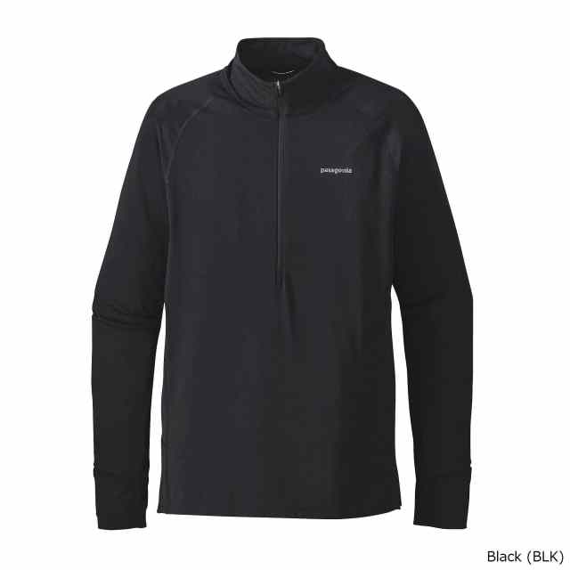 patagonia(パタゴニア) M's All Weather Zip Neck BLK 24202