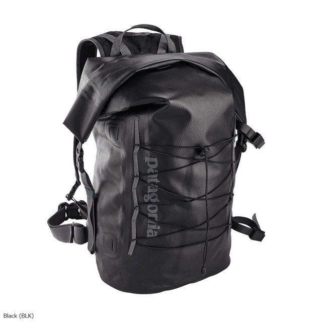 patagonia(パタゴニア) Stormfront Roll Top Pack BLK ALL 49226