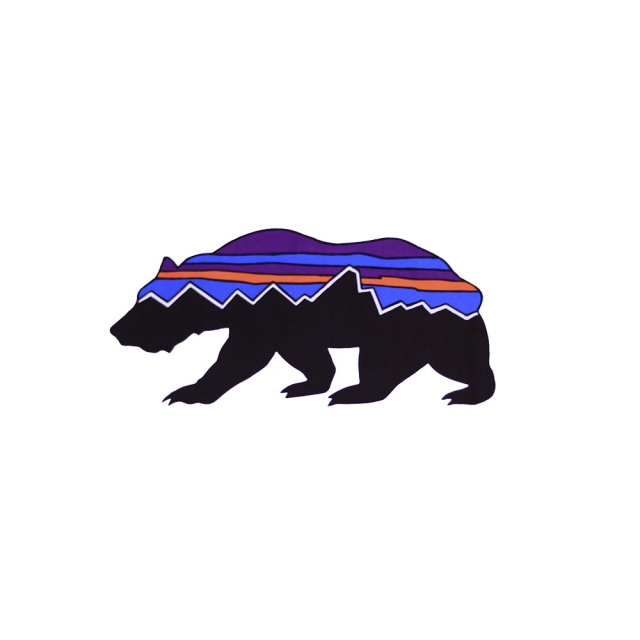 patagonia(パタゴニア) FITZ ROY BEAR STICKER 92067